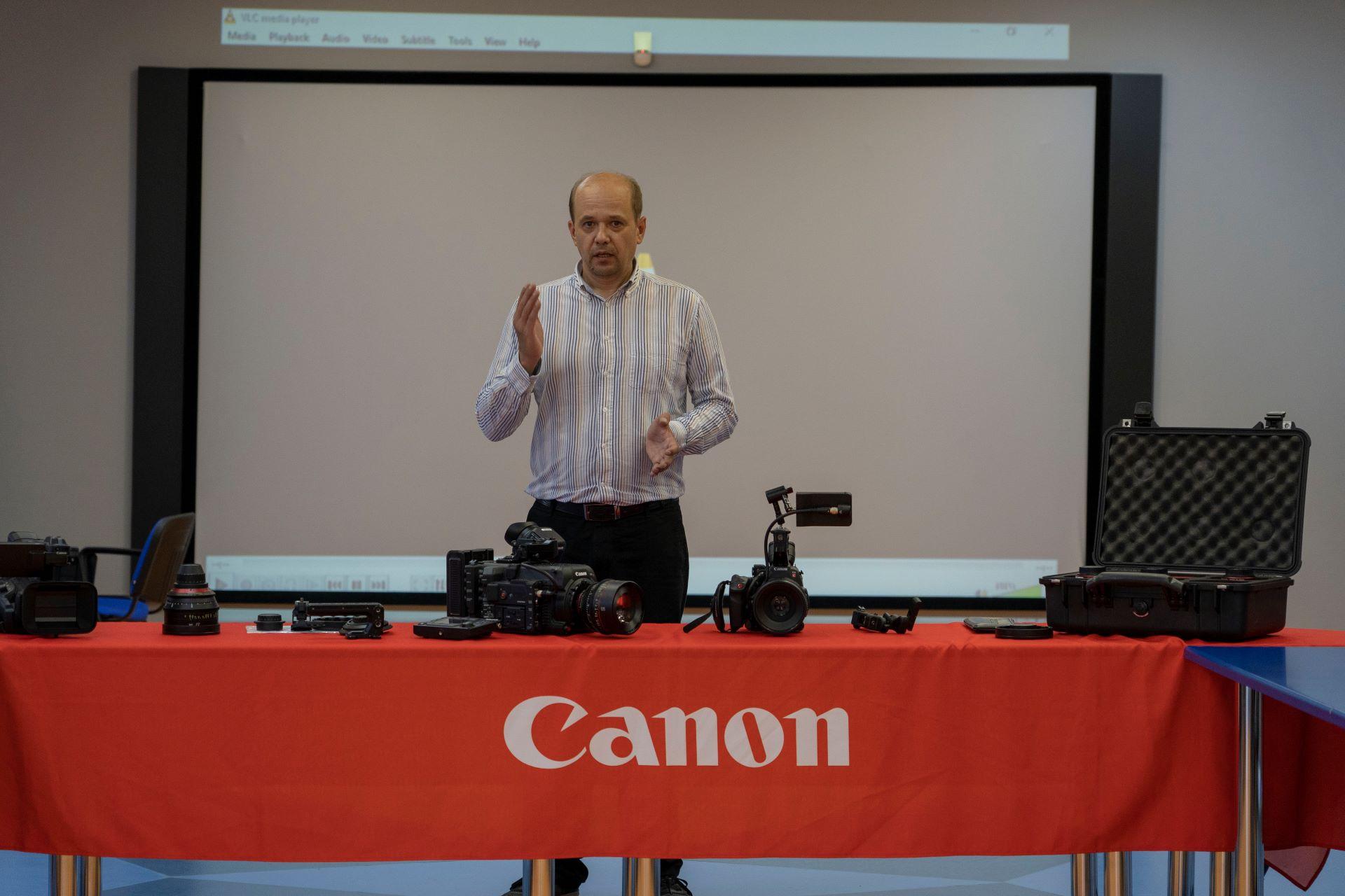 03.08.19 Семинар Съемочная техника Canon. TVS Service LTD