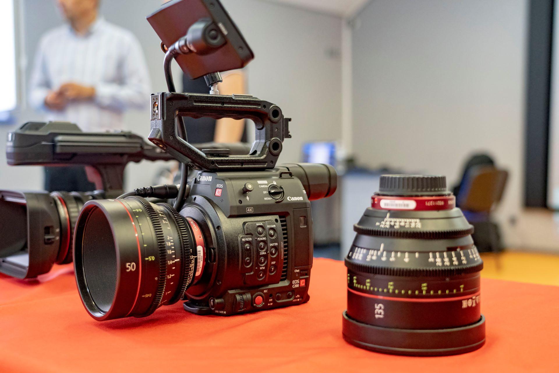 Canon EOS C200 03.08.19 Семинар Съемочная техника Canon. TVS Service LTD